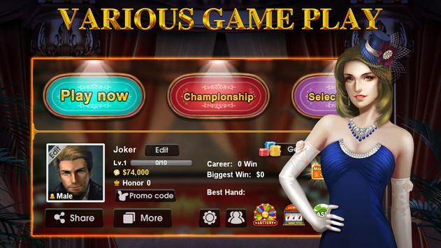 DH Texas Poker syot layar 4