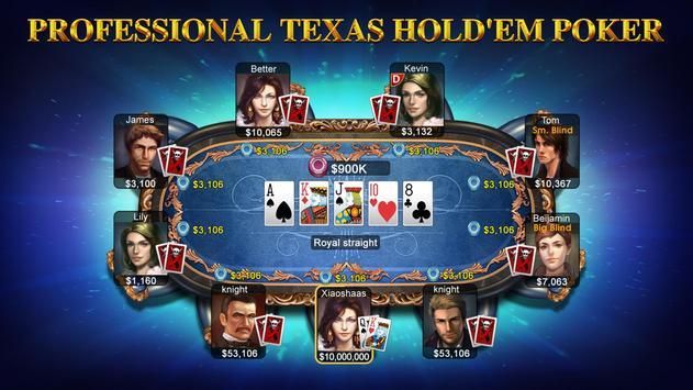 DH Texas Poker syot layar 5