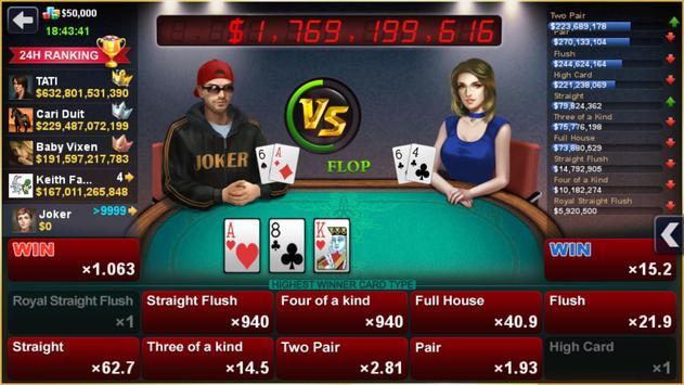 DH Texas Poker syot layar 6