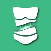 Body Mass Index & Ideal Weight Calculator アイコン