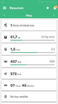 Salud y Dieta - Perder Peso & Contador de Calorias Poster