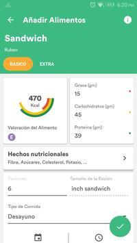 Salud y Dieta - Perder Peso & Contador de Calorias captura de pantalla 4