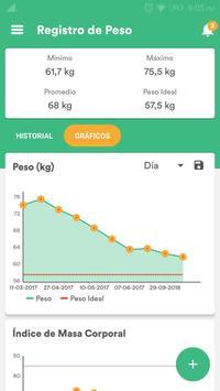 Salud y Dieta - Perder Peso & Contador de Calorias captura de pantalla 6
