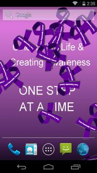 Cure Pancreatic Cancer Live WP poster
