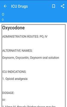 ICU Drugs screenshot 2