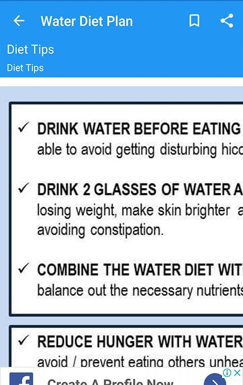 Water Diet Plan for Android - APK Download