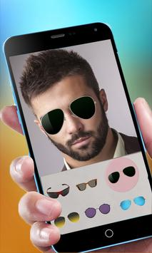 Cool Beard & Mustache Photo Editor-Man Hairstyles screenshot 1