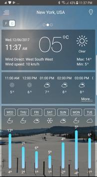 Prognoza pogody screenshot 5