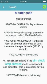 Secret Reset And Master Code screenshot 3