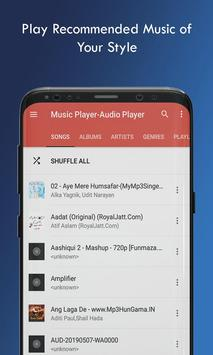 Music Player Audio Player screenshot 1
