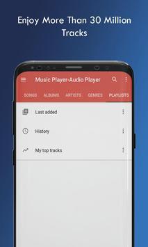 Music Player Audio Player screenshot 2