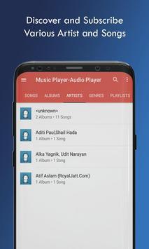Music Player Audio Player screenshot 4