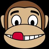 Monkey Emoji Stickers icon