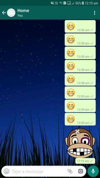 Monkey Emoji Stickers poster