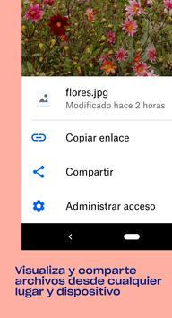Dropbox captura de pantalla 1