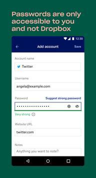 Dropbox Passwords screenshot 5