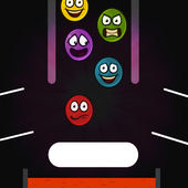 Paddle Bounce Drop Balls: Bouncing Ball Game icon