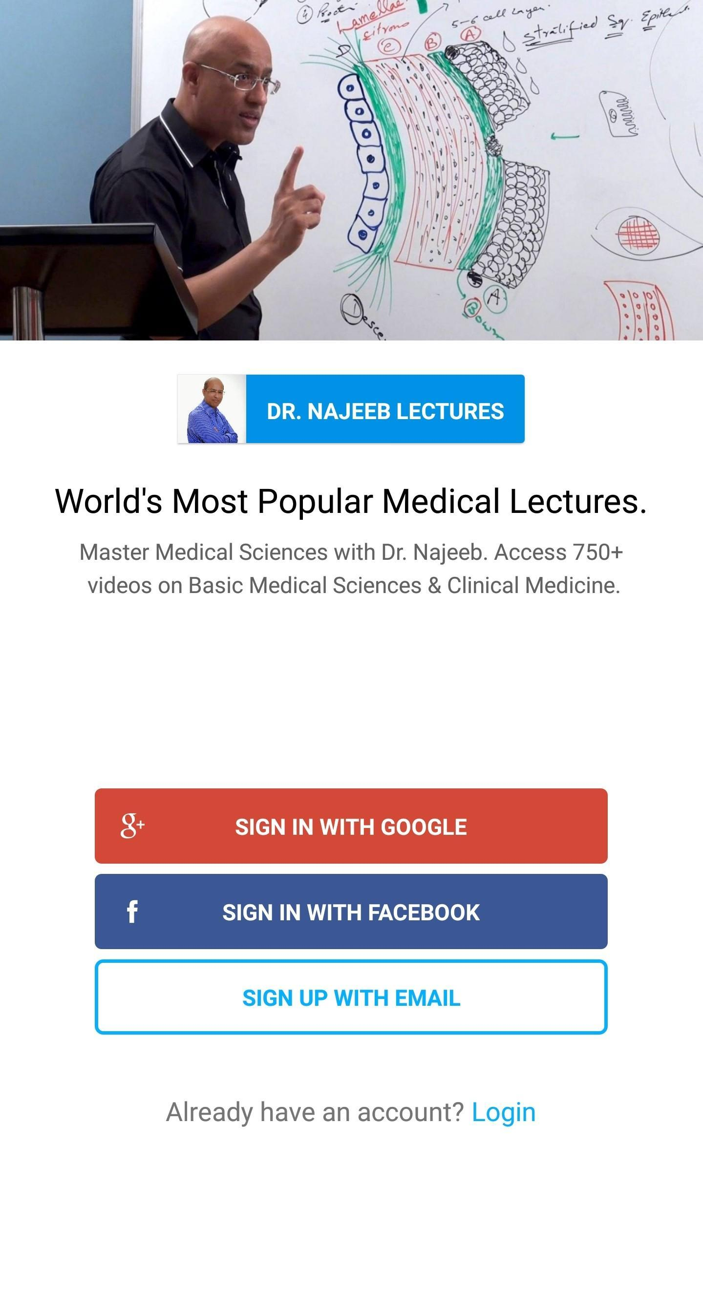 Dr  Najeeb Lectures for Android - APK Download