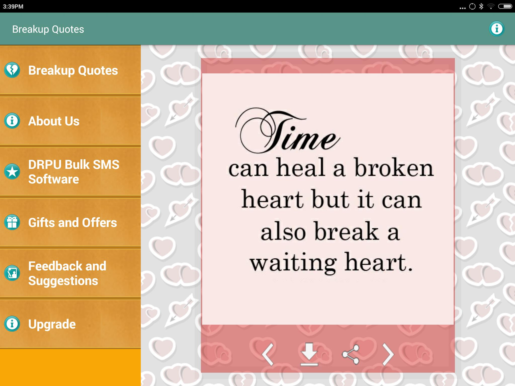 Break Up and Move on Quotes for Android - APK Download