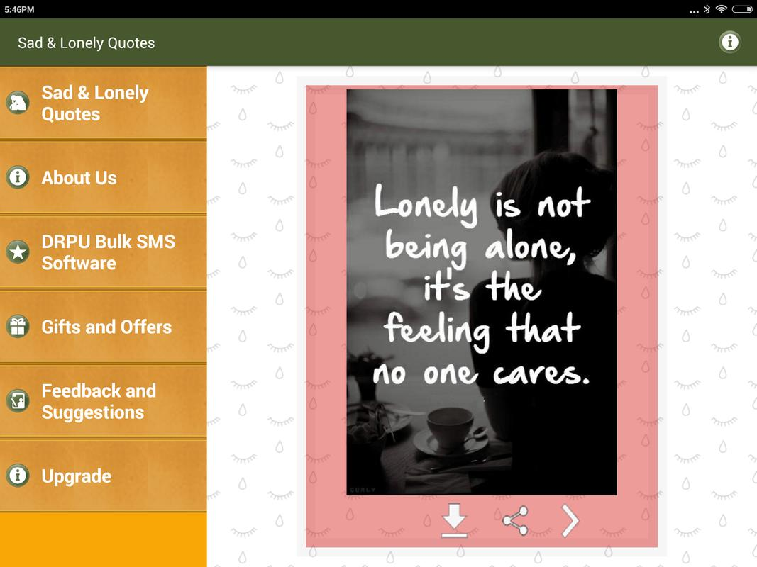 Sad Lonely Painful Quotes For Android Apk Download