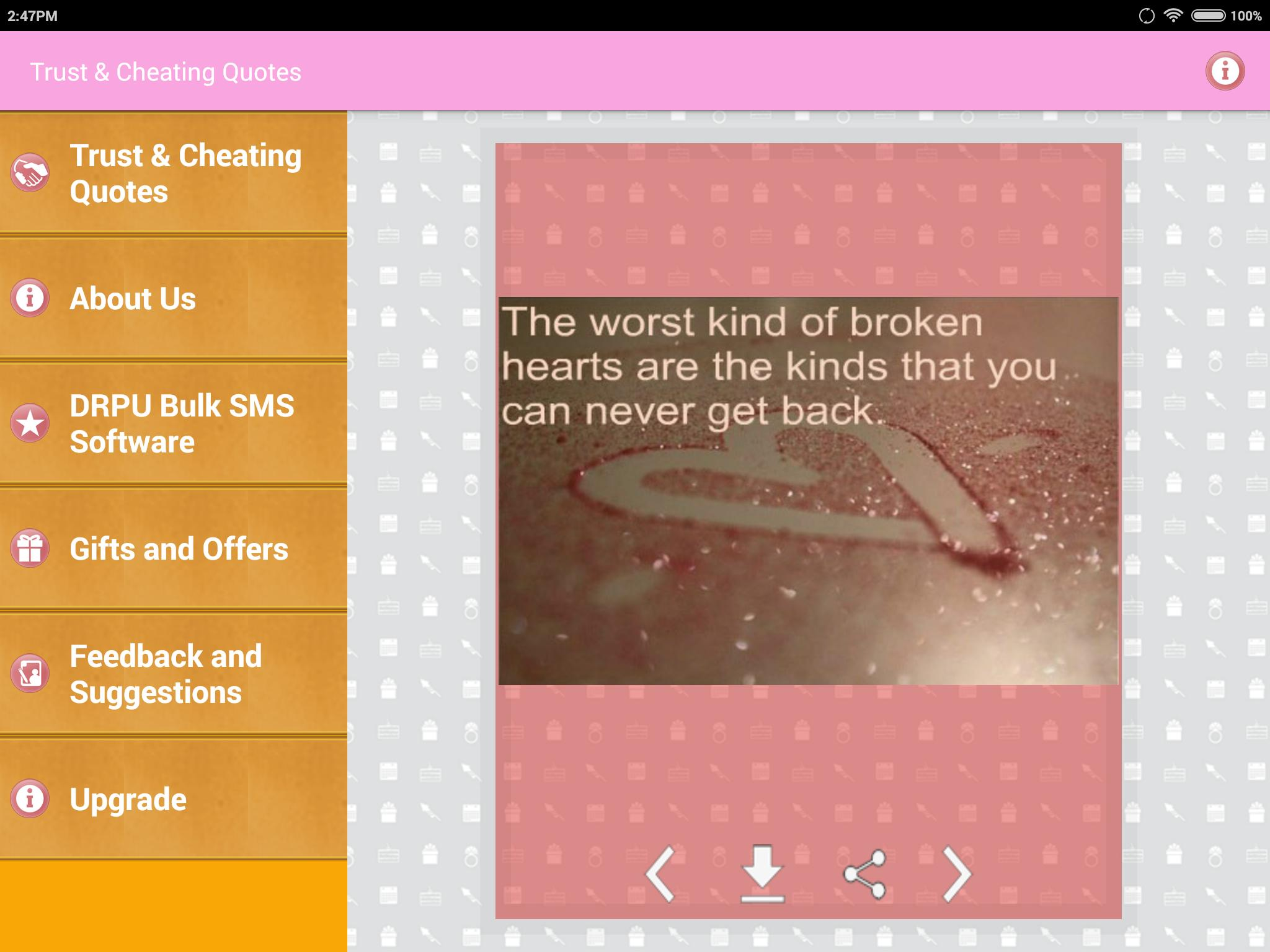 Trust & Cheating Quotes for Android - APK Download