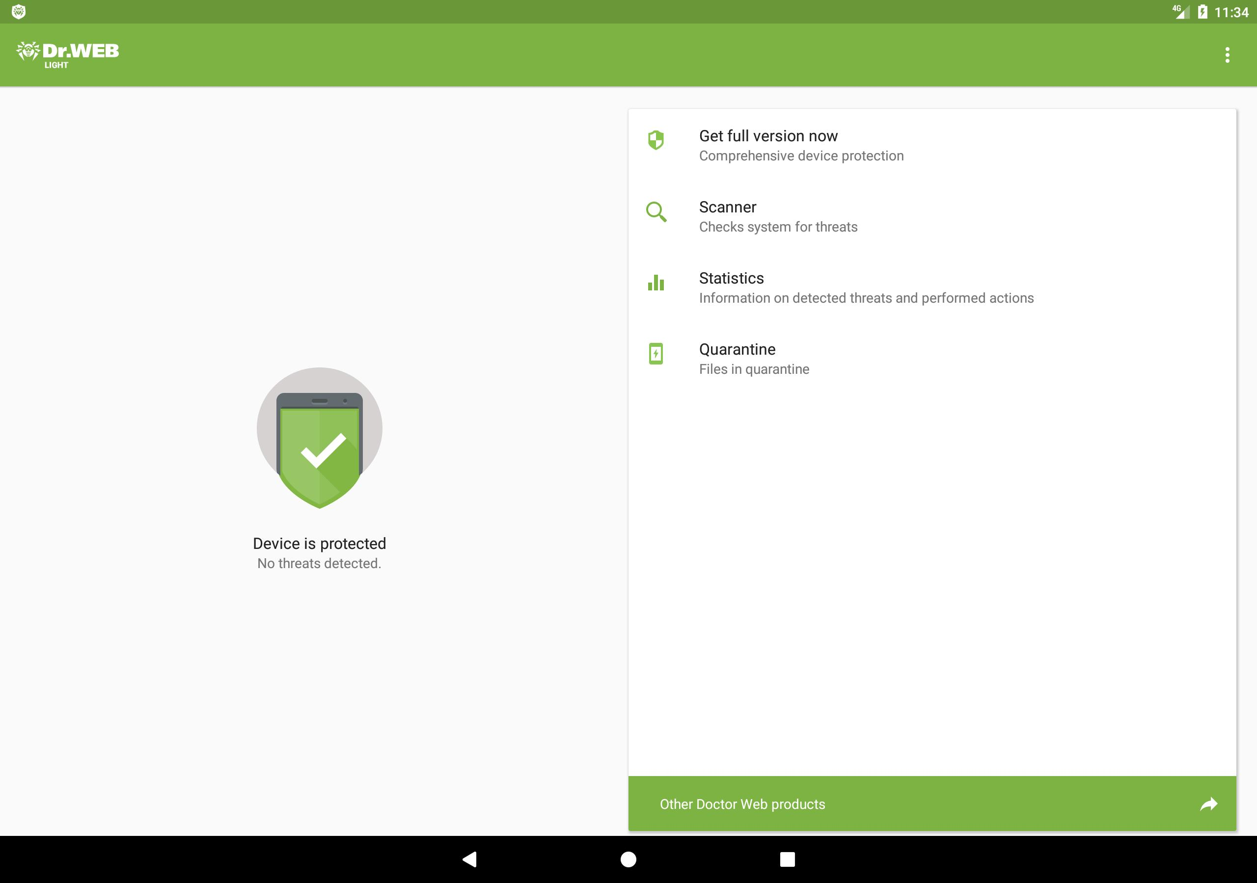 Anti Virus Dr Web Light For Android Apk Download
