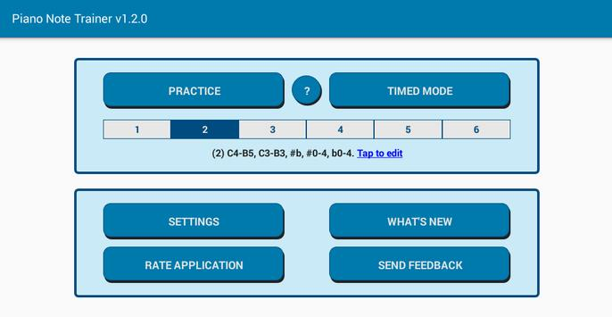 Read notes MIDI/USB support - Piano Note Trainer स्क्रीनशॉट 3