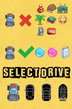 Beach Drive - summer mood racing game ảnh chụp màn hình 1