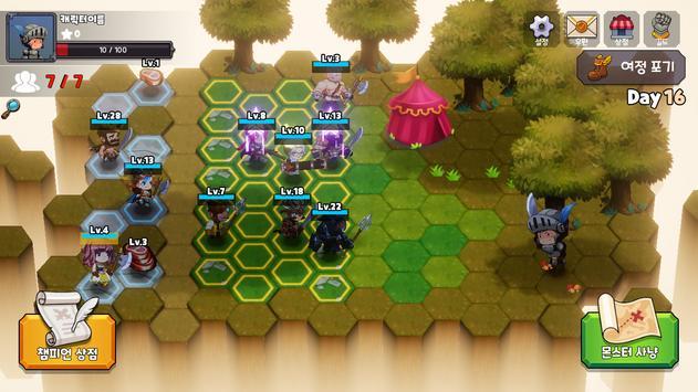 톤톤아레나 : 오토체스RPG screenshot 8