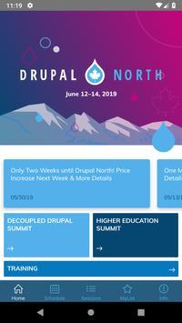 Drupal North 2019 screenshot 1