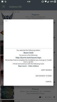 Addons KD captura de pantalla 1