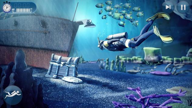 Scuba Diving Simulator- Shipwreck Underwater World poster
