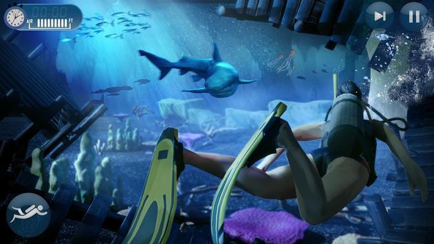 Scuba Diving Simulator- Shipwreck Underwater World screenshot 2