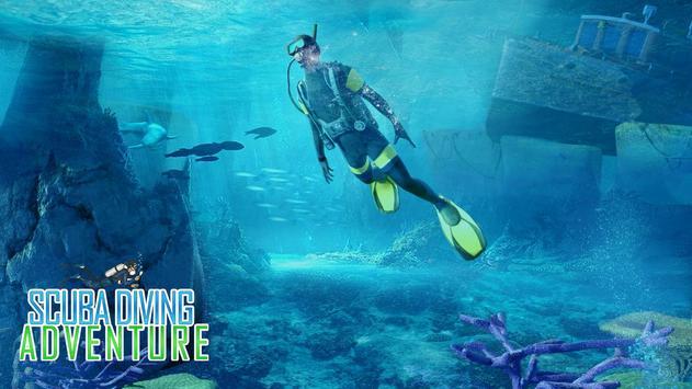 Scuba Diving Simulator- Shipwreck Underwater World screenshot 3
