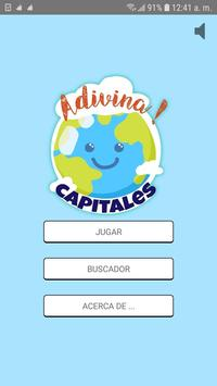 Adivina Capitales poster