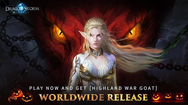 Dragon Storm Fantasy poster