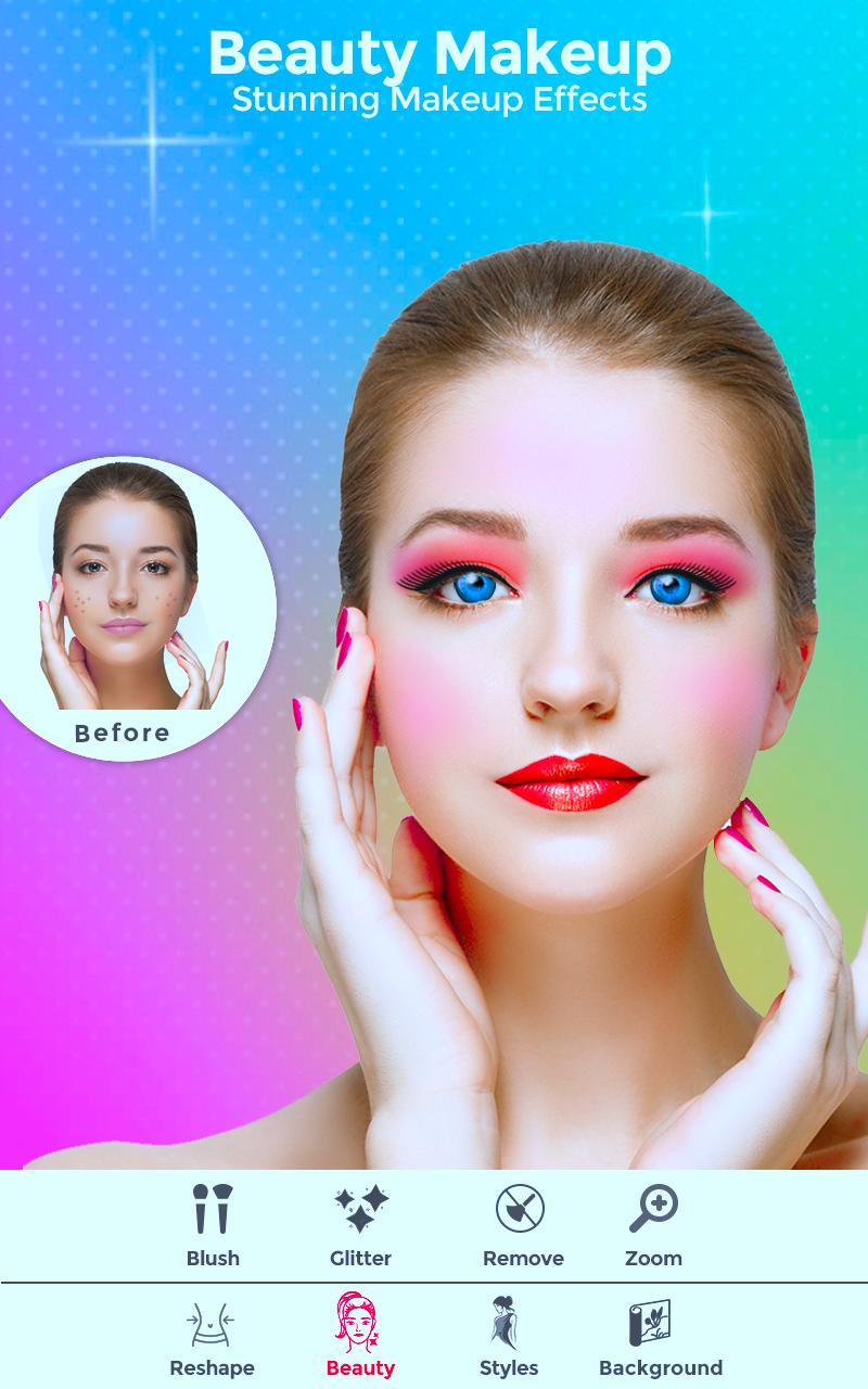 WOWGIRL - Girl photo Editor , Makeup Camera app for Android