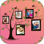 Tree Pic Collage Maker Grids - Tree Collage Photo icon