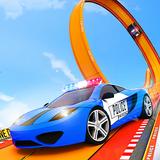 Police Car Racing Stunts 3D : Mega Ramp Car Games