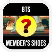 Guess The BTS MV From Member's Shoes Kpop Quiz icon