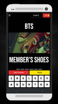 Guess The BTS MV From Member's Shoes Kpop Quiz screenshot 4