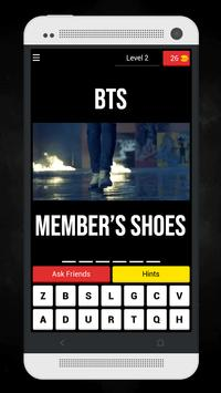 Guess The BTS MV From Member's Shoes Kpop Quiz screenshot 5