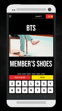 Guess The BTS MV From Member's Shoes Kpop Quiz screenshot 6