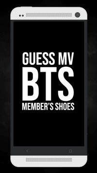 Guess The BTS MV From Member's Shoes Kpop Quiz poster