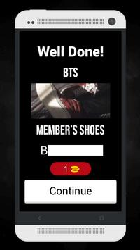 Guess The BTS MV From Member's Shoes Kpop Quiz screenshot 1