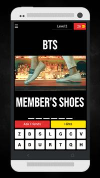 Guess The BTS MV From Member's Shoes Kpop Quiz screenshot 2