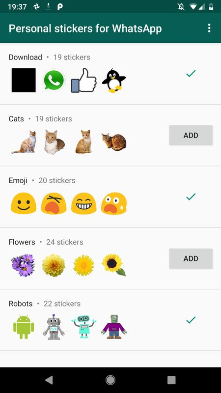 Personal Stickers For Whatsapp For Android Apk Download