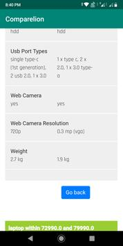 Comparelion - Compare phones, laptops, bikes, etc screenshot 2