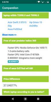 Comparelion - Compare phones, laptops, bikes, etc screenshot 3