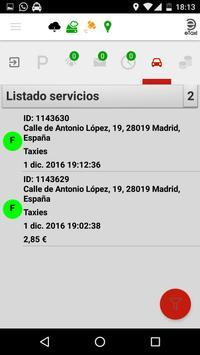 eTaxi (Taxista) स्क्रीनशॉट 7